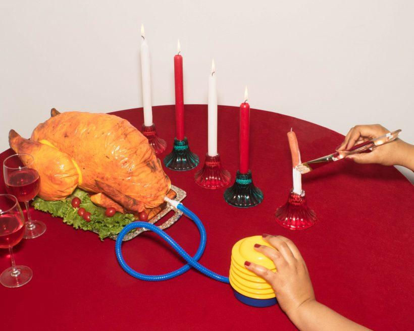 JessicaPettway SamanthaCabreraFriend Turkey Dinner