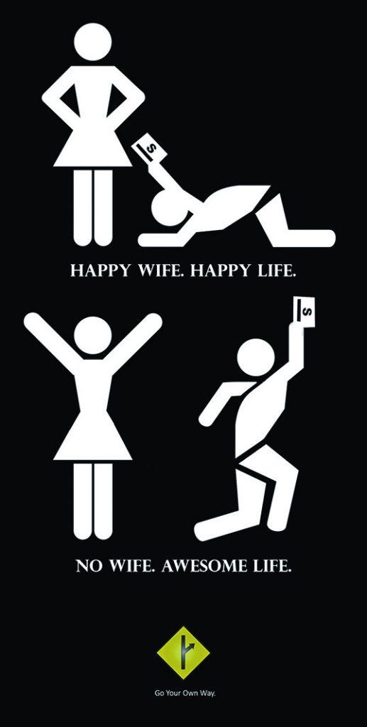 no wife a 1