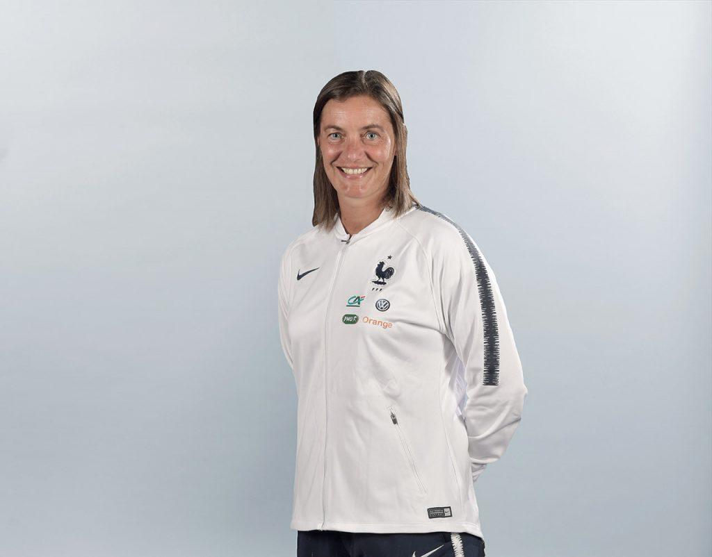 204507 Portrait Corinne Diacre  selectionneure de l equipe de France Feminine 2018 2019 A