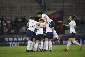 216147 France Danemark Feminine   Match amical  avril 2019