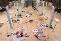3 Rugile Barzdziukaite Vaiva Grainyte Lina Lapelyte Sun   Sea Marina opera performance Biennale Arte 2019 Venice © Andrej Vasilenko