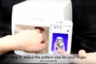 99 HQCE 3 Imprimante ongle © Capture ecran Youtube