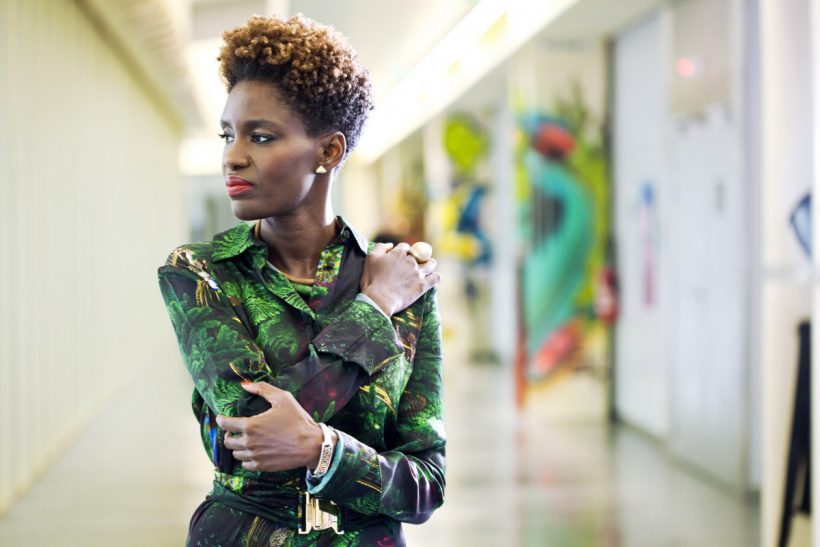 Rokhaya Diallo copyright Brigitte Sombié