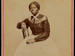 portrait of harriet tubman 1820 1913 american abolitionist by benjamin f. Powelson Auburn New York USA 1868