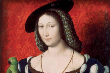 portrait of marguerite of navarre c. 1527. artist clouet jean c. 1485 1541