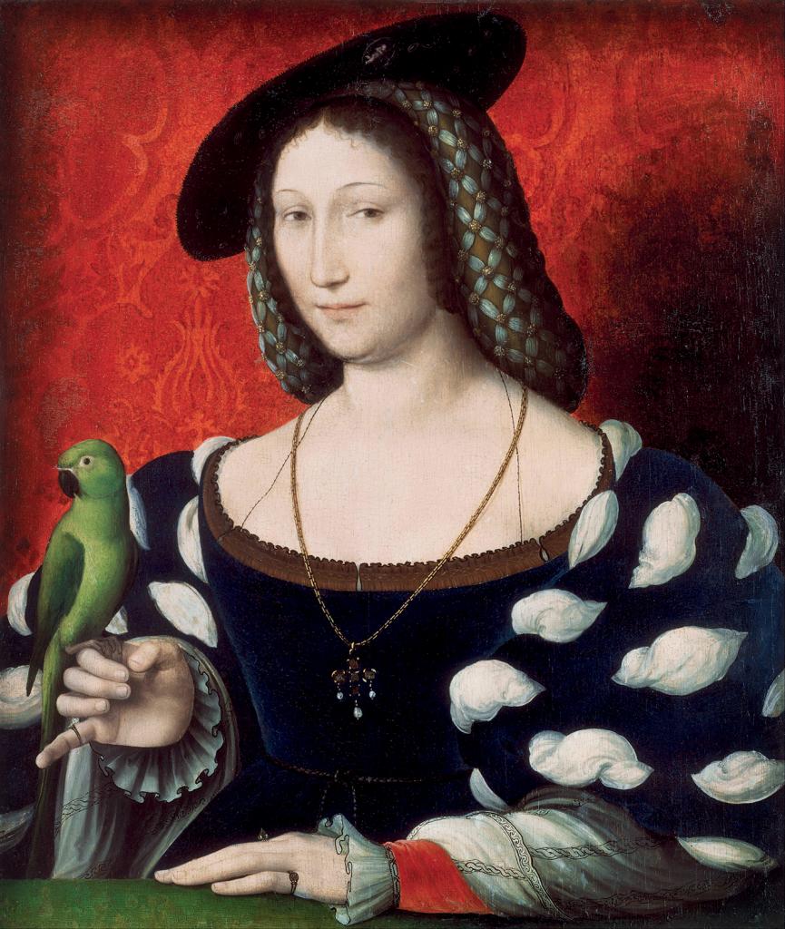 portrait of marguerite of navarre c. 1527. artist clouet jean c. 1485 1541