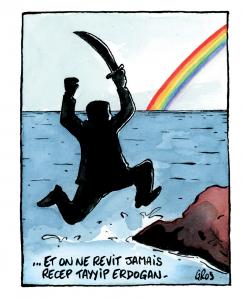 112 QUICHE dessin LGBT © Pascal gros pour Causette