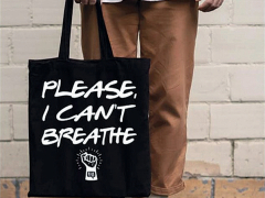 113 quiches tote bag ÆˇPlease I cant breatheˇØ ∏ capture Çcran Facebook