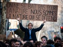 99 la jeunesse guidant le peuple climat 2 ©Benjamin Mengelle  Hans Lucas