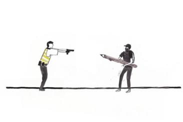 Police-Dessin