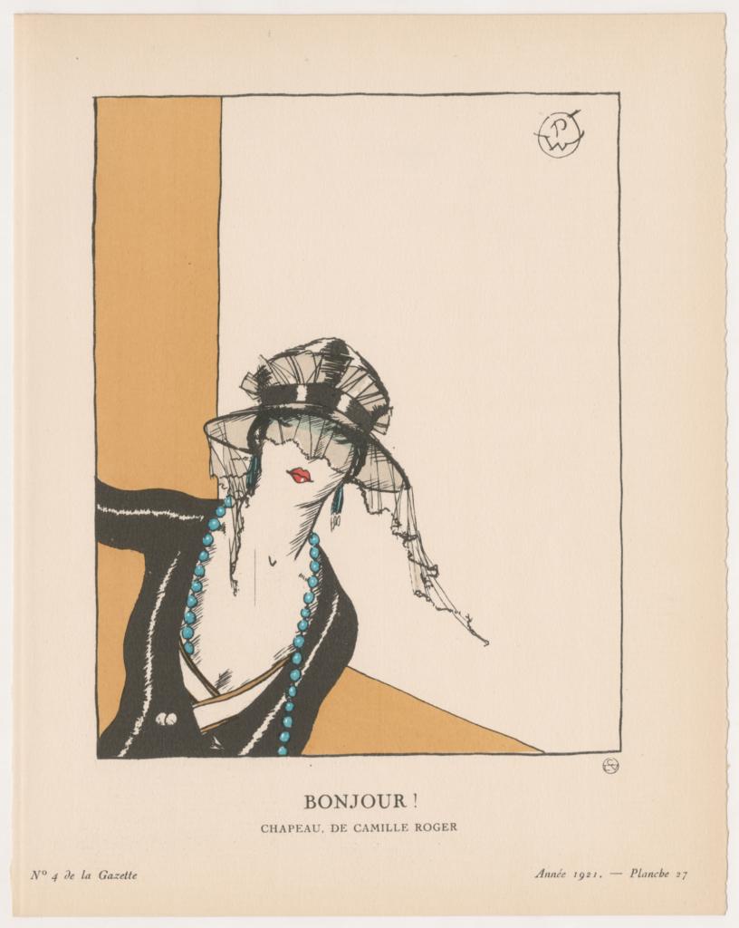 14 gazette du bon ton 1921
