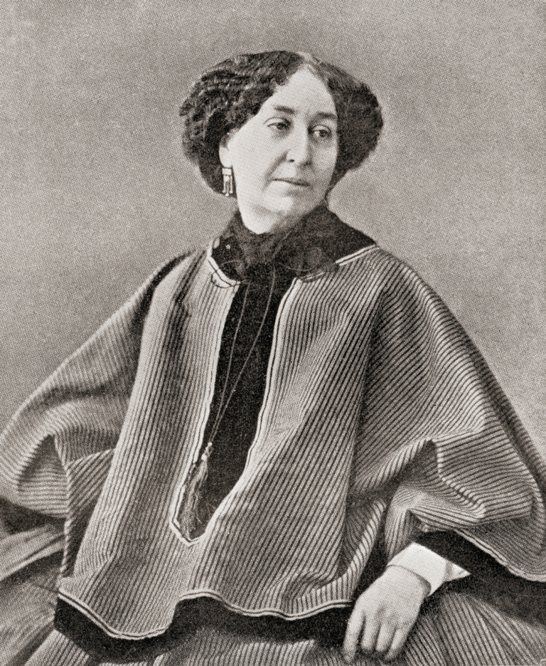 amantine lucile aurore dupin 1804 – 1876 aka by her pseudonym george sand. french novelist and memoirist