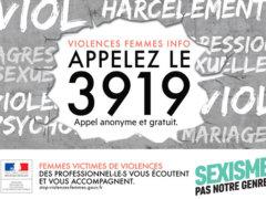 Campagne de sensibilisation au numéro 3919
