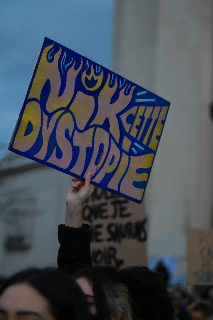 pancarte dystopie