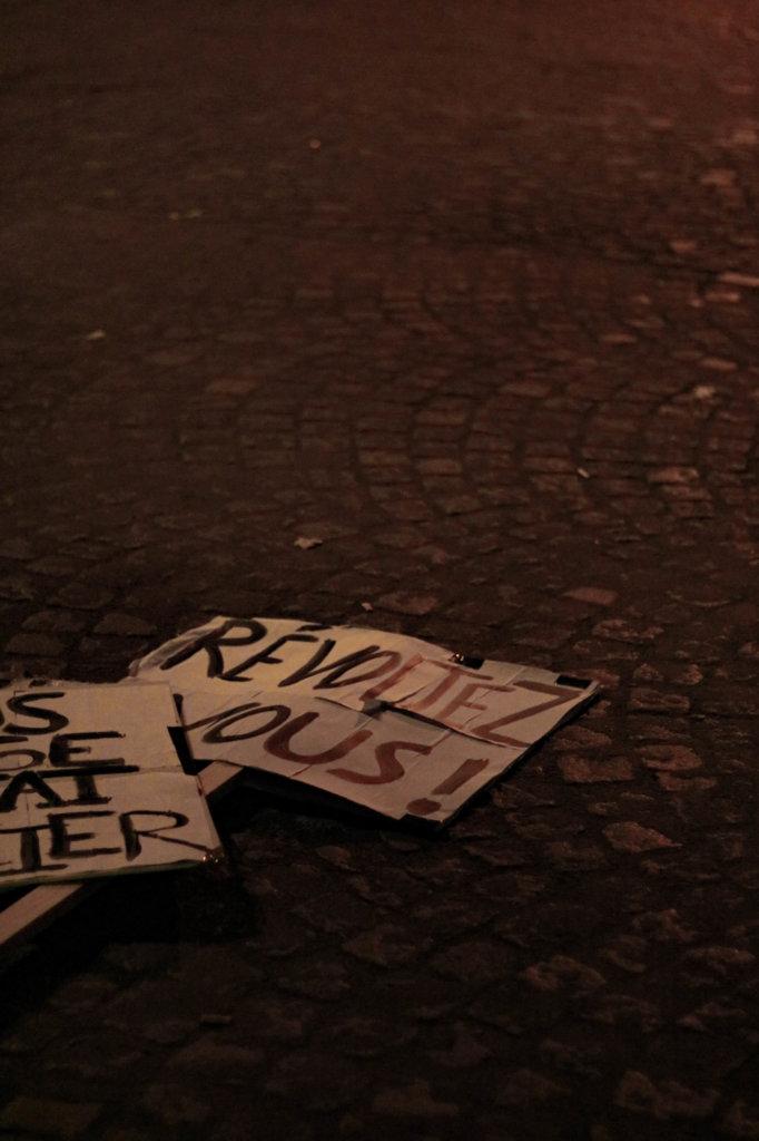 pancarte révoltez vous