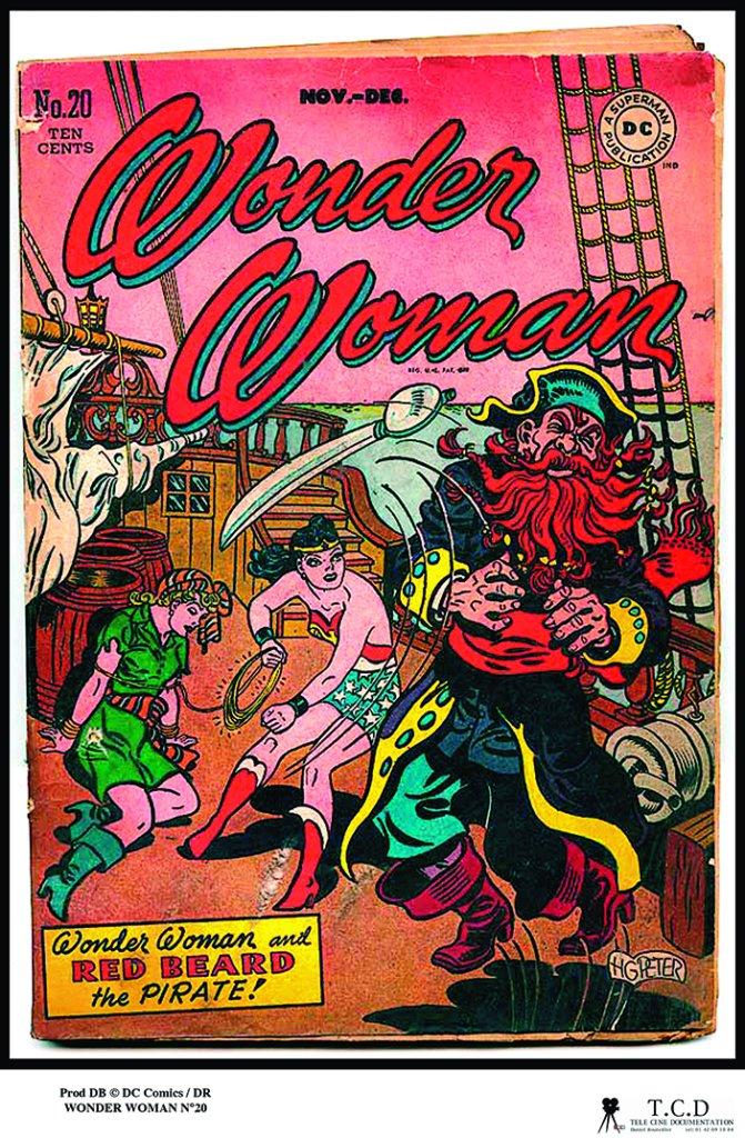 WONDER WOMAN Comics 11 A