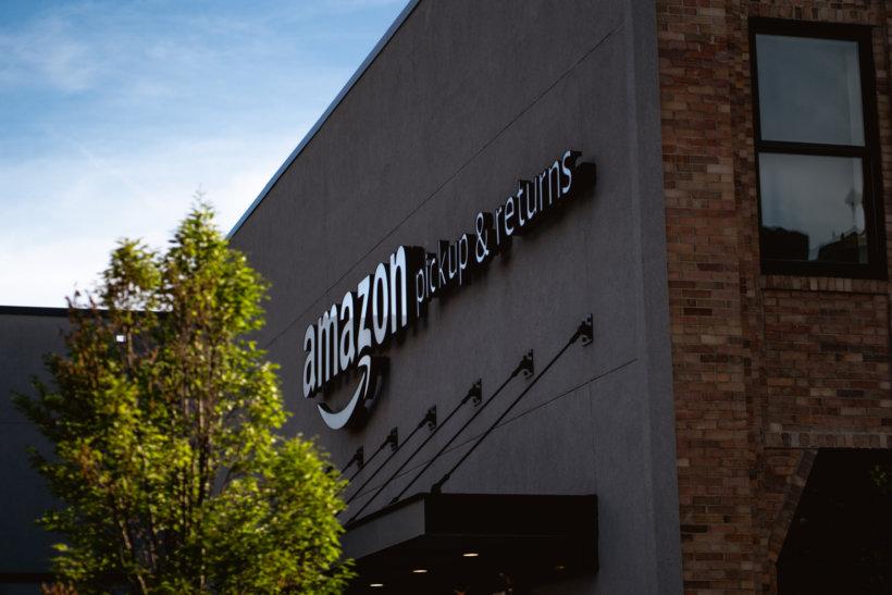 Amazon pickup & returns building