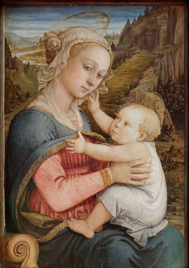 Vierge à lEnfant   Fra Filippo Lippi