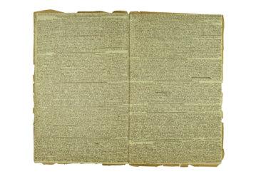 cook book Doppelseite 1827 III.43 DETOURAGE a