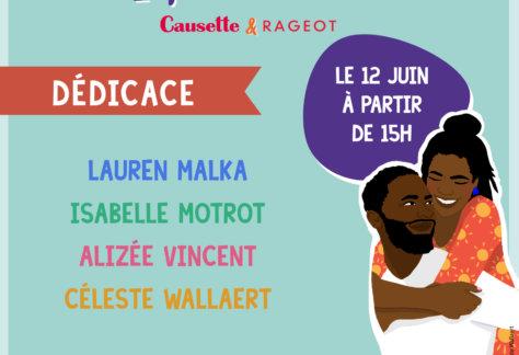 Dedicace CeciEstMonCoeur 12juin2