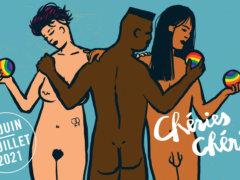 Affiche de la 26e édition de Chéries Chéris