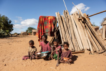 drought and severe hunger in southern madagascar