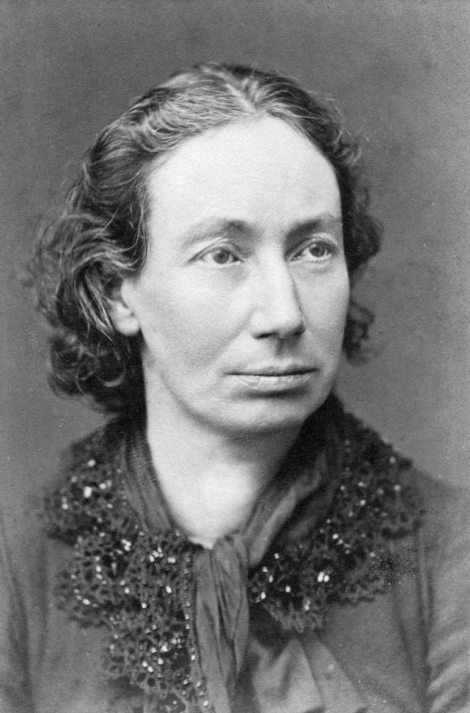 Louise Michel grayscale