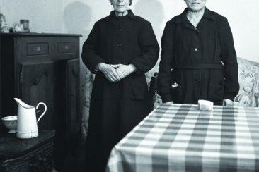 Sabine Weiss. Dun sur Auron colonie familiale pour aliénés 1951 1952 A